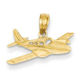 Cessna Plane Pendant 14k Gold K888