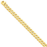 8.3mm Hand-Polished Traditional Link Chain 9 Inch 14k Gold LK118-9
