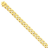 12mm Hand-polished Fancy Link Chain 8 Inch 14k Gold LK139-8