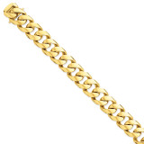 16.15mm Polished Fancy Link Chain 24 Inch 14k Gold LK472-24