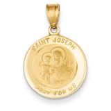 Saint Joseph Medal Charm 14k Gold M1505