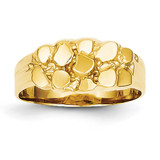 Nugget Ring 14k Gold NR11
