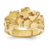 Men's Nugget Ring 14k Gold NR20