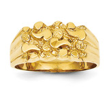 Nugget Ring 14k Gold NR21