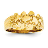 Nugget Ring 14k Gold NR6
