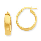 Hoop Earrings 14k Gold PRE681