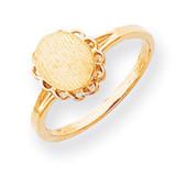 Signet Ring 14k Gold R1408