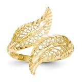 Filigree Ring 14k Gold R157
