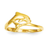 Dolphin Ring 14k Gold R193