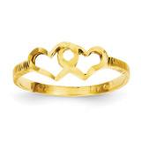 Children's Heart Ring 14k Gold R199