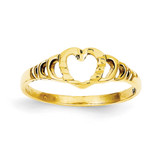 Children's Heart Ring 14k Gold R203