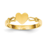 Children's Heart Ring 14k Gold R224