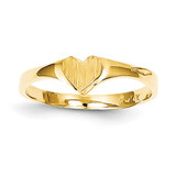 Children's Heart Ring 14k Gold R225