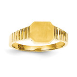 Child's Signet Ring 14k Gold R231