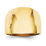 Dome Ring 14k Gold Polished R333