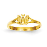 Butterfly Baby Ring 14k Gold R529