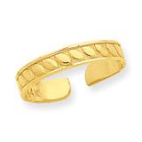 Toe Ring 14k Gold R566