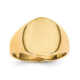 Men's Signet Ring 14k Gold RS105