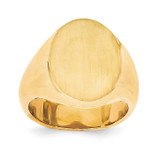 Men's Signet Ring 14k Gold RS108