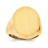 Men's Signet Ring 14k Gold RS109