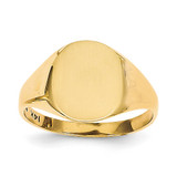 Signet Ring 14k Gold RS113
