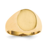 Men's Signet Ring 14k Gold RS117