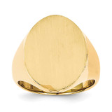 Men's Signet Ring 14k Gold RS118