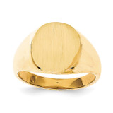 Men's Signet Ring 14k Gold RS123
