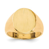 Men's Signet Ring 14k Gold RS124