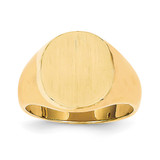 Men's Signet Ring 14k Gold RS125