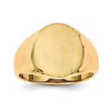 Men's Signet Ring 14k Gold RS126