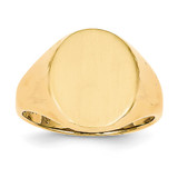 Men's Signet Ring 14k Gold RS131