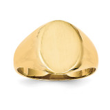 Men's Signet Ring 14k Gold RS133