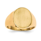 Men's Signet Ring 14k Gold RS134