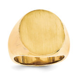 Men's Signet Ring 14k Gold RS138
