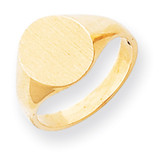 Signet Ring 14k Gold RS140