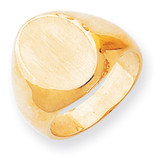 Men's Signet Ring 14k Gold RS145