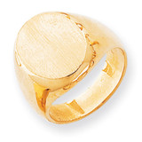 Men's Signet Ring 14k Gold RS146