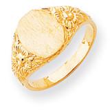 Signet Ring 14k Gold RS168