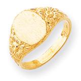 Signet Ring 14k Gold RS169