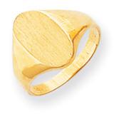 Signet Ring 14k Gold RS180