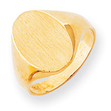 Signet Ring 14k Gold RS183