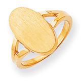 Signet Ring 14k Gold RS184