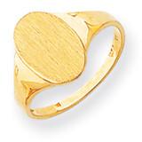 Signet Ring 14k Gold RS186