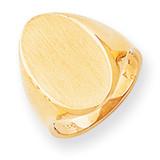 Signet Ring 14k Gold RS187