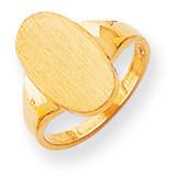 Signet Ring 14k Gold RS188