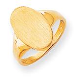 Signet Ring 14k Gold RS189