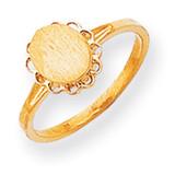 Signet Ring 14k Gold RS190