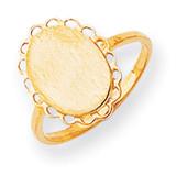 Signet Ring 14k Gold RS192