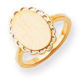 Signet Ring 14k Gold RS193